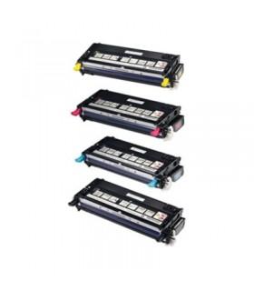 DELL 3110 / 3115  pack 4 Toner Compatibles (bk-c-m-y)