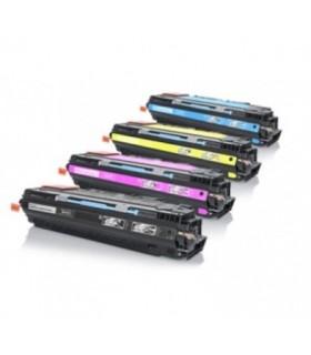Q2670-Q2681A/2-3 HP pack 4 tóners compatibles HP Q2670A-Q26871A-Q2682A-Q2683A