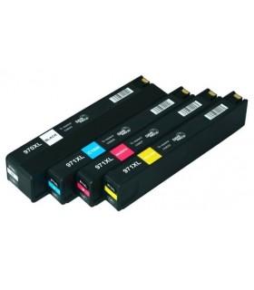 PACK HP 970XL/971XL BK-C-M-Y cartuchos compatibles HP OFFICEJET PRO X451 / X551 / X476 / X576