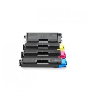 TK-590 PACK 4 Toner Compatibles (BK-C-M-Y) Kyocera para FS-C2026/FS-C2126/ FS-C5250