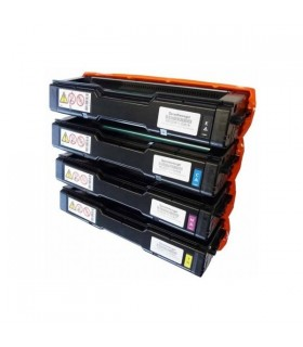 TK-150 PACK 4 Toner Compatibles (BK-C-M-Y) Kyocera FS-C1000 / FS-C1020