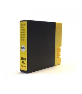 PGI-2500XL-Y AMARILLO cartucho compatible Canon  iB4000 / ib4050 / MB5000 / MB5050 / MB5300 / MB5350