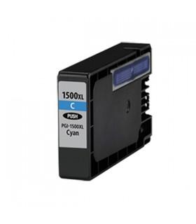 PGI-1500XL-C CIAN tinta compatible Canon Maxify MB2000 / MB2050 / MB2300 / MB2350