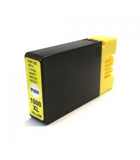 PGI-1500XL-Y AMARILLO tinta compatible Canon Maxify MB2000 / MB2050 / MB2300 / MB2350