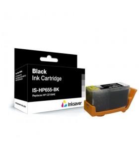 HP 655 BK cartucho negro compatible CZ109AE