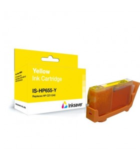 HP 655 AMARILLO cartucho compatible CZ112AE