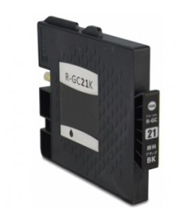 RICOH GC21K NEGRO cartucho de tinta compatible  405532
