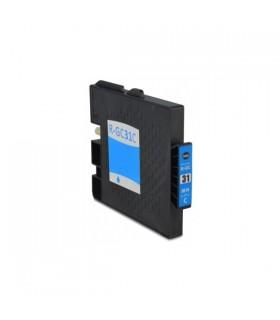 GC31C CIAN Ricoh tinta gel compatible 405689