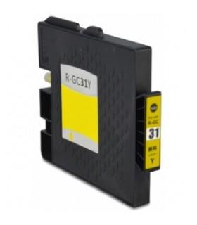 GC31Y AMARILLO Ricoh tinta gel compatible 405691