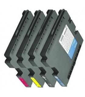 GC31 Ricoh PACK 4  tintas gel BK-C-M-Y  compatibles 405689