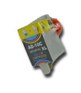 KODAK A10 PACK NEGRO +COLOR 2 cartuchos de tinta compatibles