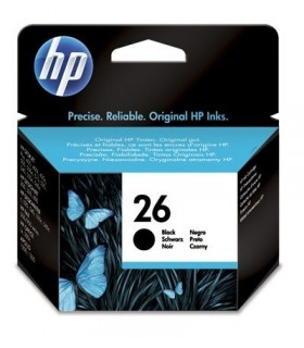 cartucho negro original HP 26 51626AE