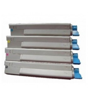 pack 4 toner colores COMPATIBLES OKI C5650-C5750