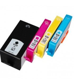 HP 920XL pack cartuchos compatibles alta capacidad HP 920XL BK/C/M/Y