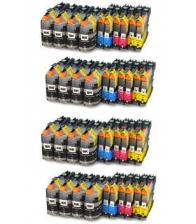 BROTHER LC-127 XL / LC-125 XL PACK 40 cartuchos de tinta   compatibles