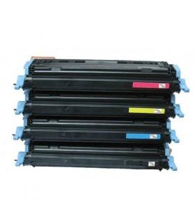 C9730A/1/2/3 PACK 4 TONER compatibles HP Color Laserjet 5500 - 5550