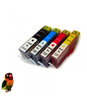 pack 4 cartuchos compatibles HP 364xl (negro-cián-magenta-amarillo)