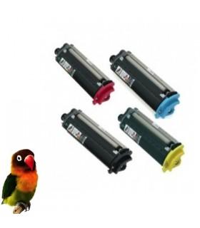 EPSON ACULASER C2600 PACK 4 toners compatibles BK-C-M-Y