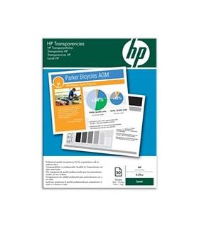 Hewlett packard transparencia laser 50 páginas