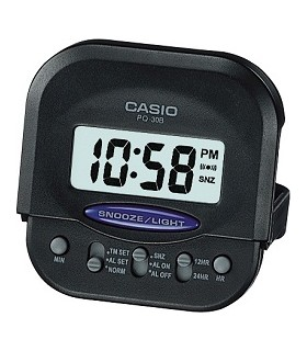 Reloj despertador digital casio pq-30b-1 mini