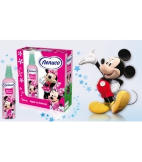 Estuche NENUCO Minnie 175 ml + figura Minnie