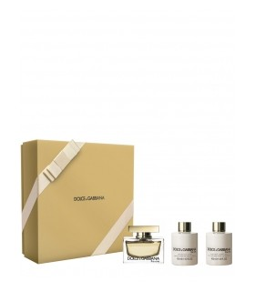 Estuche THE ONE de Dolce Gabbana 75 ml + bodylotion 100ml + gel 100ml