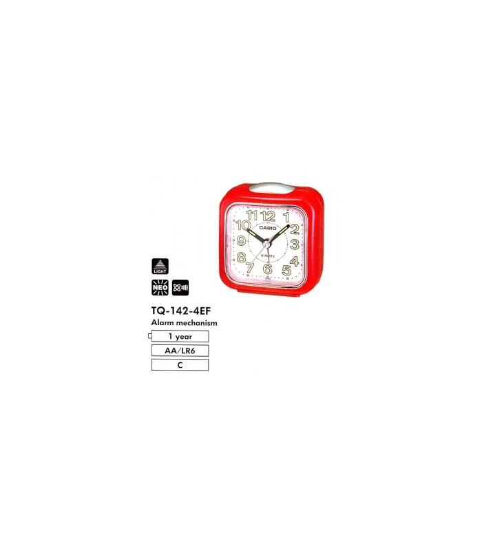 Reloj despertador Casio TQ-142-4