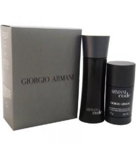 Estuche Armani code eau de toilette 75 ml + desodorante sin alcohol 75gr