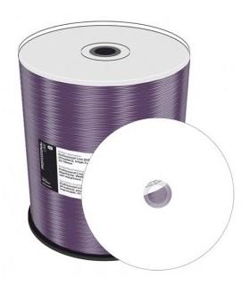CD-R MediaRange Prof.Line PROSELECT FULLFACE Inkjet Blanco 100 uds
