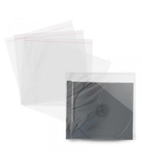 MediaRange Sobre Plastico Trasparente para Cajas Jewel 100 pcs