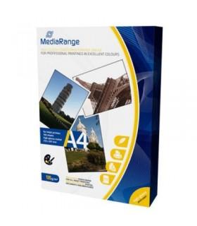 MediaRange Papel Foto Din A4 Alto Brillo Pack 100 uds 135grs/m2