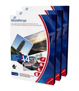 MediaRange Papel Foto Mate Doble Cara 200 G/m2 Pack 50 uds A4