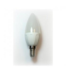 Bombilla LED Vela Bajo Consumo 3W 3000K E14