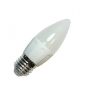 Bombilla LED Vela Bajo Consumo 3W 6400K E27