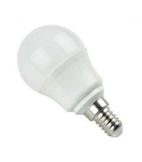 Bombilla LED Bajo Consumo 5W 6400K E14 (390lum) Serie G45
