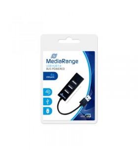 HUB 4 Puertos USB 2.0 Mediarange MCRS502