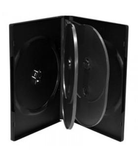 MediaRange Caja DVD para 5 discos Pack 5 uds