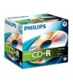 CD-R Audio Philips 80 Min Caja Jewel 10 uds