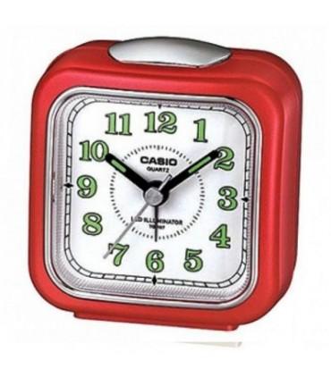 Despertador CASIO TQ-157-4 rojo