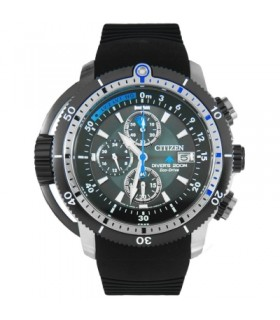 CITIZEN ECODRIVE PROMASTER AQUALAND DIVERS BJ2120-07E
