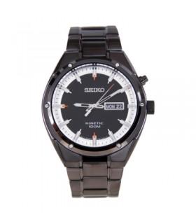 reloj hombre SEIKO KINETIC SMY153P1 ION PLATED / BAÑO IONES  HARDLEX CRYSTAL ACERO INOXIDABLE