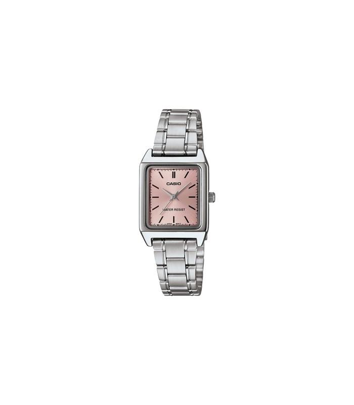 edd3111facf9 reloj mujer CASIO LTP-V007D-4 plateado rosa