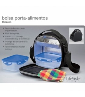 BOLSA LIFESTYLE PORTA ALIMENTOS TERMICA