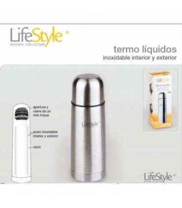 TERMO LIQUIDOS INOXIDABLE 1 LITRO LIFESTYLE