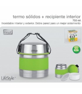 TERMO LIFESTYLE SOLIDOS INOXIDABLE 750CL.