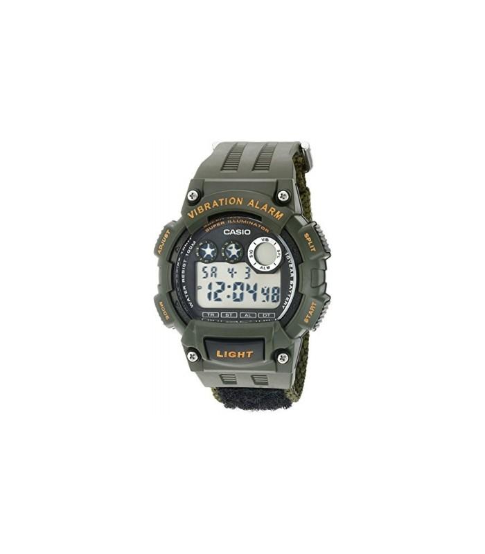 1cf1622ef608 reloj hombre Casio W-735HB-3A deportivo correa de tela