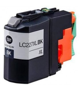 LC227XL BK BROTHER NEGRO tinta compatible