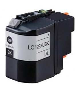 LC129XL BK BROTHER NEGRO alta capacidad tinta compatible