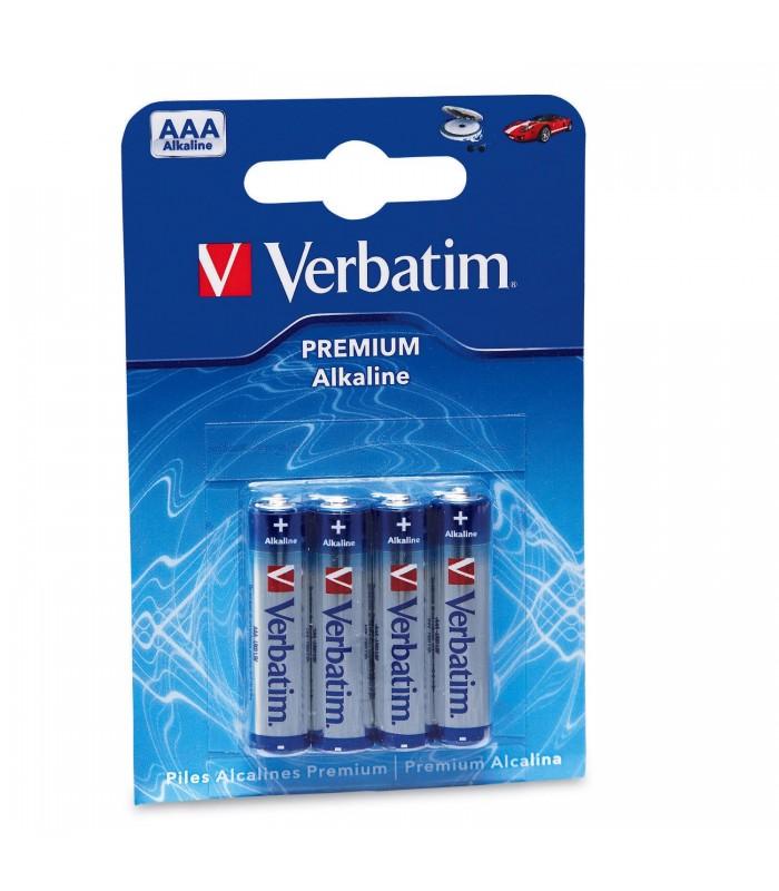 Verbatim blister 4 pilas alcalinas lr03 (aaa) 49920