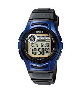 Reloj digital casio w213-2a cronografo - autocalendario
